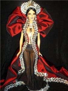 Queen Of the Vampires ~ barbie doll ooak dark vampire beauty
