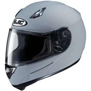 HJC AC 12 Full Face Motorcycle Helmet Matte Grey Medium