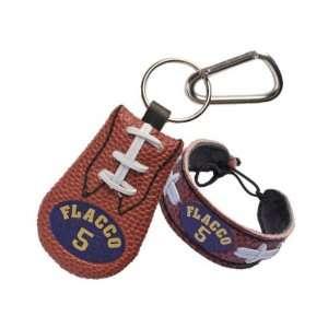 Joe Flacco Baltimore Ravens Bracelet & Keychain Set