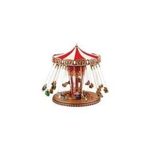 Mr. Christmas Worlds Fair Animated Musical Carnival Swing Carou