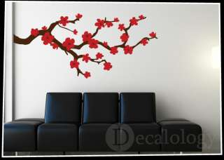 Cherry Blossom   Vinyl Wall Art Decal   Home Decor