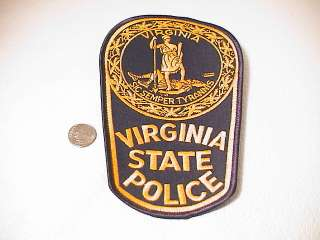 VIRGINIA STATE TROOPER HIGHWAY PATROL POLICE OFFICER LAW ENFORCEMENT