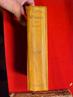 LITTLE WOMEN LOUISA MAY ALCOTT FRANCES BRUNDAGE SAALFIELD 1926 AKRON