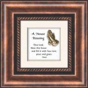 House Blessing Prayer Framed Christian Verse Art Picture