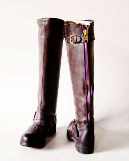 New Steve Madden LINDLEY Ladies Brown Leather Knee High Boots Shoes