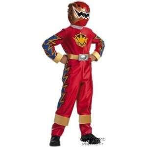 Kids Red Ranger Dino Thunder Costume (Small 4 6) Toys