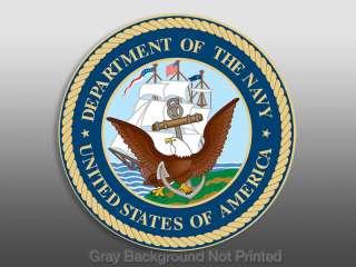 Round US Navy Seal Sticker   logo decal stickers decals
