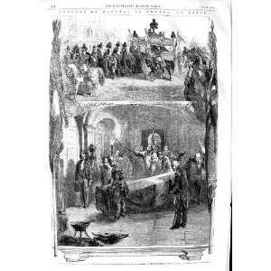 1854 Funeral Marshal Arnaud Paris Church Invalides