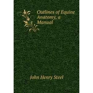 of Equine Anatomy, a Manual John Henry Steel  Books