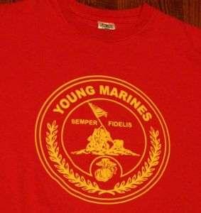 USMC Marine Corps US Military Marines T Shirt M