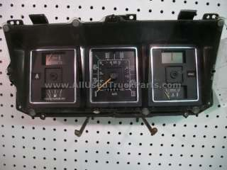 Ford Van Instrument Speedometer Cluster Gauges Assembly Kilometers 130