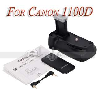 Lot2 LP E10+Battery Pack Grip For Canon EOS 1100D Rebel T3 DSLR Camera