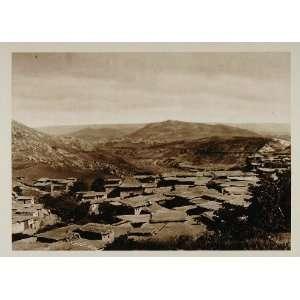1924 Ain Leuh Atlas Mountains Morocco Photogravure NICE