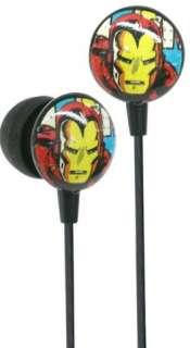 & NOBLE  Marvel Comics Licensed Iron Man Retro Earphones by iHip