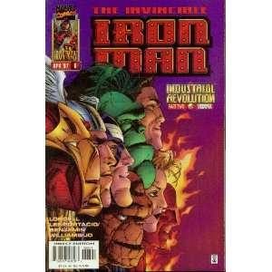 Iron Man #6 Industrial Revolution Books