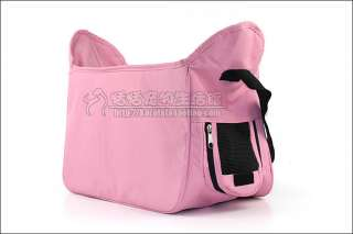 light pink cat dog pet carrier shoulder bag puppy pouch high quility