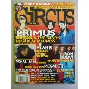 CIRCUS Americas Rock Magazine (Vol 26 #7 1995) Jerry Rothberg Books