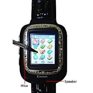 1.33 touch screen tri band watch phone, wap 2.0, gprs