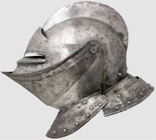 1560 AD Knight Medieval Jousting helmet plate armor armour tournament