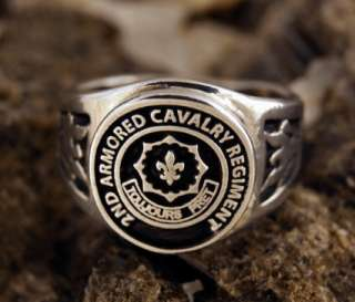 2nd Armored Cavalry Regiment ring Any Size 7 to 15