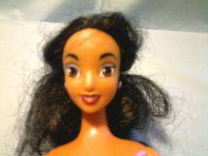 DISNEY PRINCESS JASMINE 11.5 DOLL W/ LONG BLACK HAIR