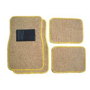 Automotive Universal Fit Car Truck 4pc Floor Mat Set Mats Carpet Honda