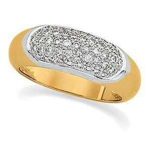 Genuine IceCarats Designer Jewelry Gift 14K Yellow/White Gold