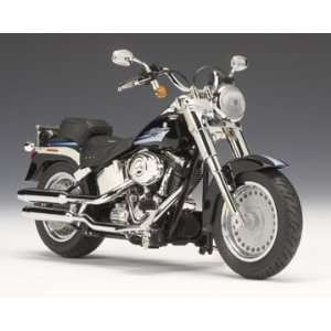 2009 Harley Davidson FLSTF Fat Boy® Vivid Black Toys & Games