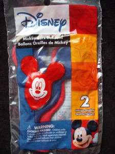 HAPPY BIRTHDAY PARTY MICKEY MOUSE EAR PRINTED BALLOON