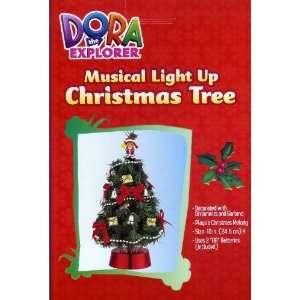 Dora the Explorer Musical Light Up Christmas Tree