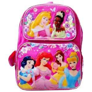 DISNEY PRINCESS NEW Ariel Snow Whitea & Cinderella School Bag