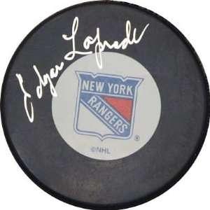 Edgar Laprade Autographed/Hand Signed New York Rangers