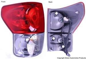 2007 2009 Toyota Tundra pickup Rear Lamp Tail Light LH