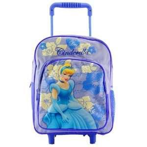 Disney Princess Cinderella Rolling Backpack TODDLER SIZE