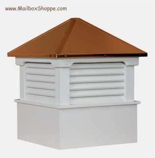 22 Azek Vinyl Cupola   Copper Roof   Weathervane Ready