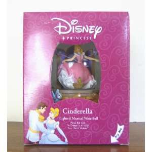 DISNEY PRINCESS CINDERELLA LIGHTED MUSICAL WATERBALL