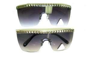 Womens Gaga Studded Sunglasses Costume Prop Lady Shades