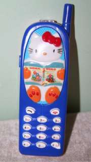 Hello Kitty Toy Cell Phone Rings, Plays Music, Cute Gift
