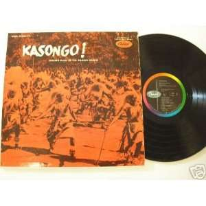 Belgian Congo Music Kasongo LP: Belgian Congo: Music
