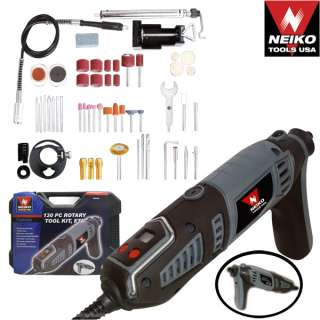 Variable Speed Digital Rotary Tool Kit Bits Grinder 35000RPM New