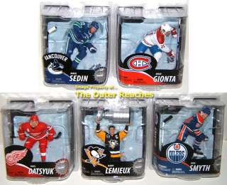 From Mcfarlane Toys NHL Series , this is the 5 action figure set which