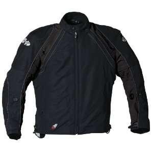 Joe Rocket Alter Ego 2.0 Mens Textile Motorcycle Jacket Black/Black XL