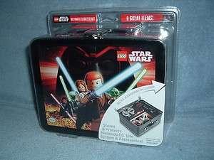 STAR WARS Nintendo DS Lite Ultimate Starter Kit Tin Lunchbox LEGO MISP