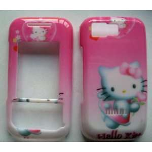 for Nokia 5200 5300 snap on cover faceplate HELLO KITTY Hearts design