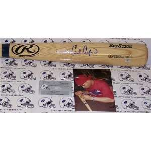 Carl Crawford Autographed/Hand Signed Big Stick (Ash) Baseball Bat