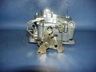 Edelbrock Webber Carter AFB 4V barrel carburetor 1406 1373 600 CFM