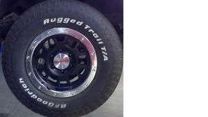 Tacoma TX Pro Beadlock Black Wheels w/TRD lugnuts
