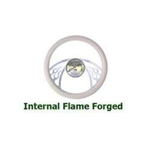 Internal Flame Full Wrap Billet Steering Wheels Automotive