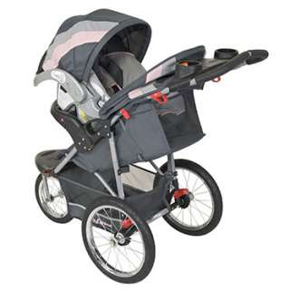how to close a baby trend jogging stroller