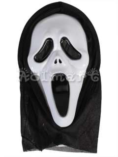 Scary Ghost Movie Scream Devil Face Mask Fancy Halloween Party Prop